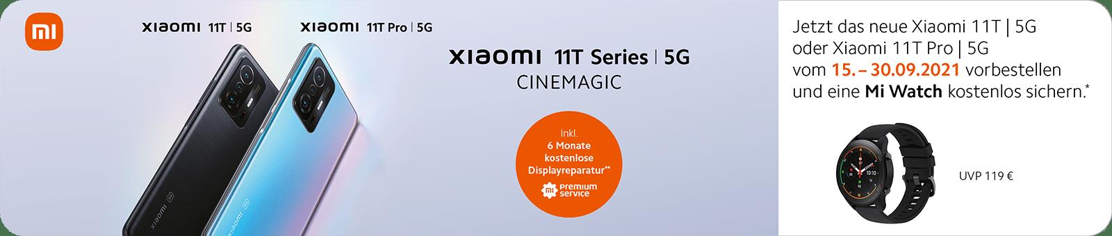 Xiaomi 11T Vorbestellung